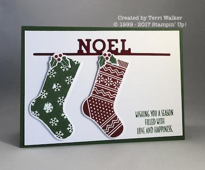 Hang your stocking Noel
