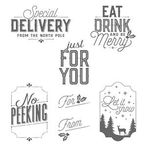 Merry Little Labels