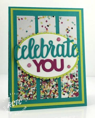 Celebrate You birthday card