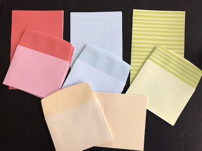 Tutti-Frutti cards and envelopes