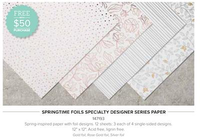 Springtime Foils