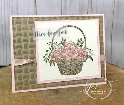 Blossoming Basket Vellum