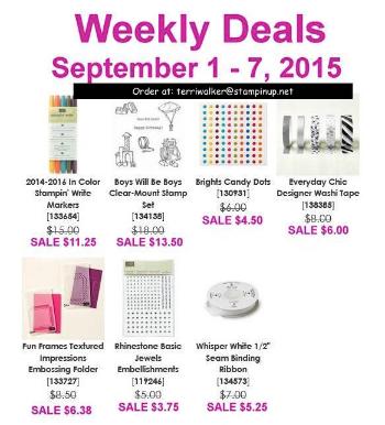 Weekly Deals Sept 1