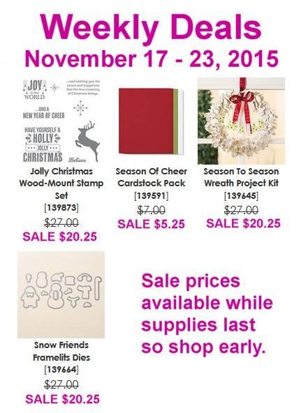 Weekly Deals Nov 17