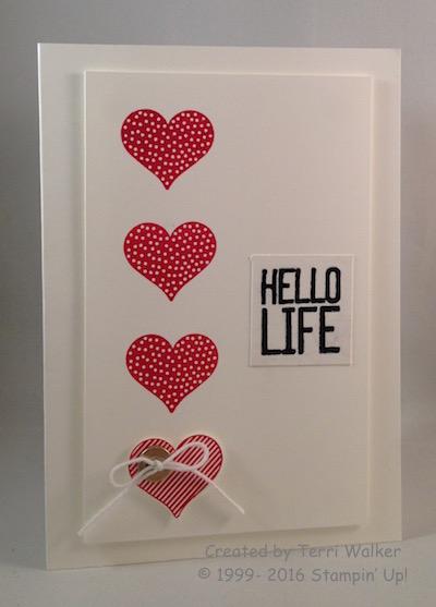 Hello Life hearts