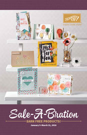 Sale-a-Bration catalog 2016