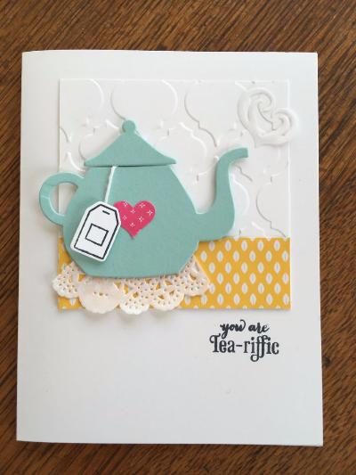 Tea-rrific doily