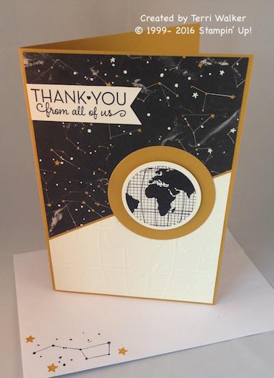 Going Global good bye envelope