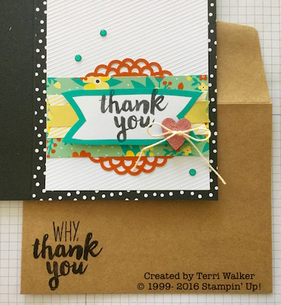 Card five with envelope