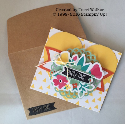 Card 7 with envelope