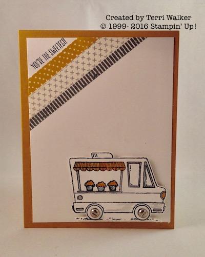Tasty Trucks Washi Tape