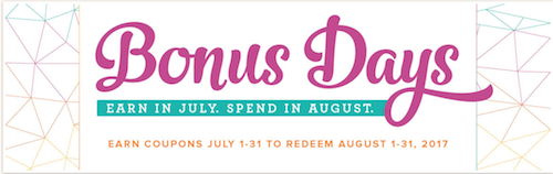 Bonus Days promotion