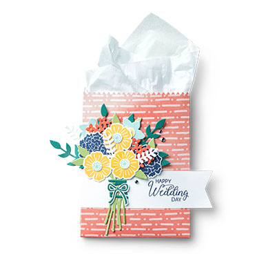 Beautiful Bouquet gift bag