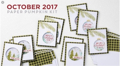 October 2017 Paper Pumpkin kit