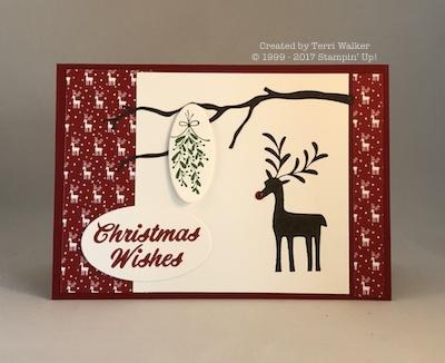 Merry Mistletoe branch