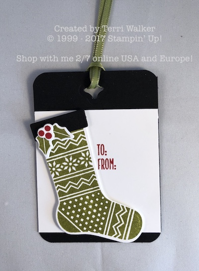Hang your Stocking gift tag