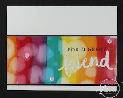 Blends technique card