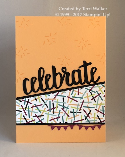 Celebrate You card map