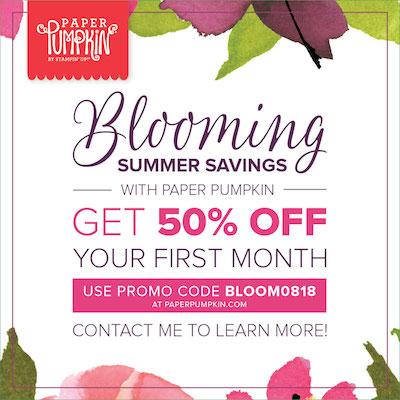 Bloomin summer savings promo