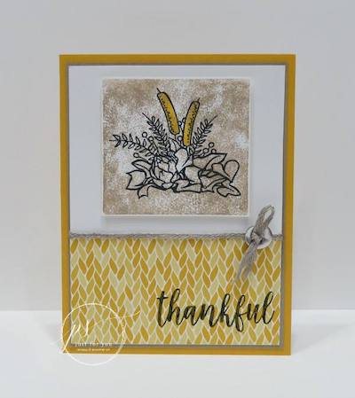 Country Home thank you card
