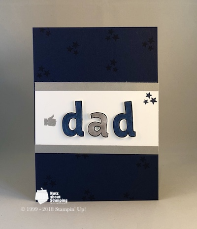 Lined Alphabet Father's Day