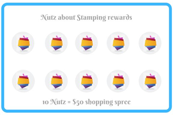 Nutz about Stamping rewards