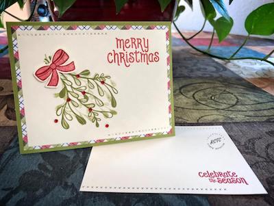 Merry Mistletoe project sheet