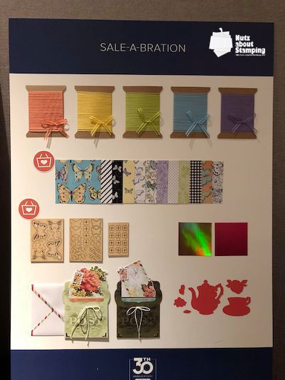 Sale-a-bration catalog products