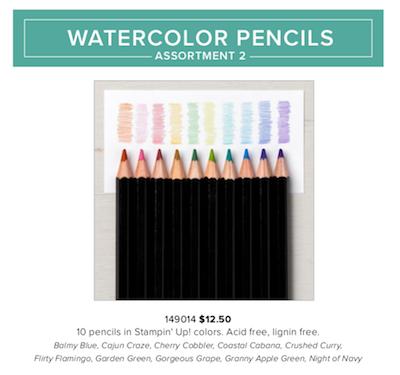 Watercolor pencils 2