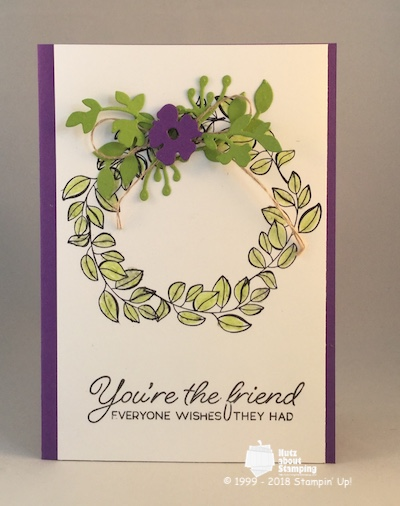 Blended Seasons friendship wreath
