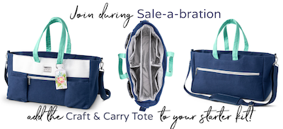 Craft & Carry tote