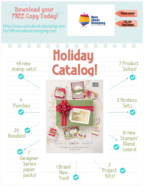 What was on your first Holiday catalog order? - Nutz about Stamping