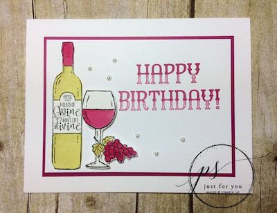 Wine birthday