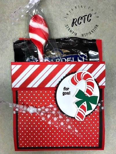 Candy Cane pocket card