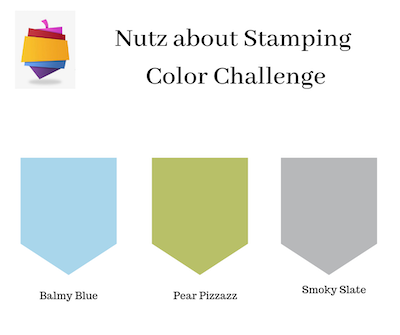 Nutz About Stamping Color Challenge
