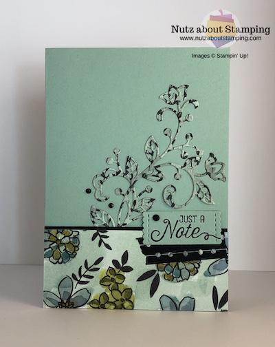 Flourishing Phrases note card