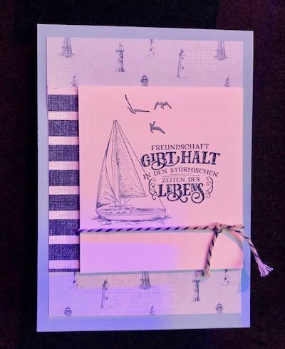 Come Sail Away card 1