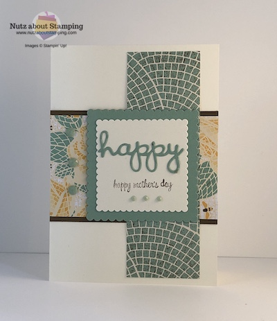 Mosaic Mood Mother's Day card