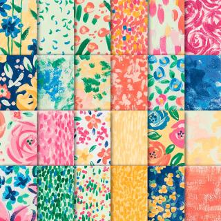 Garden impressions paper