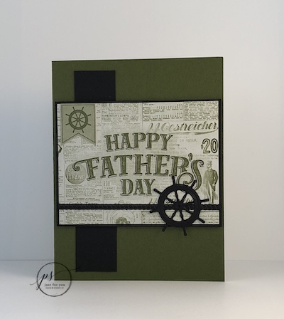 Come Sail Away Father's Day card