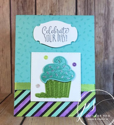 Hello Cupcake birthday card