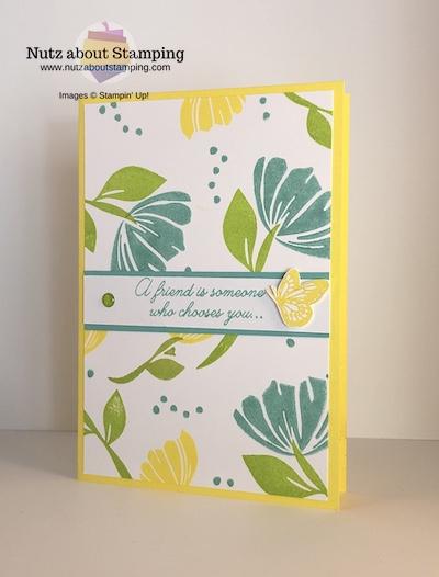 Bloom by Bloom color challenge card