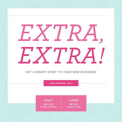Extra Extra promo