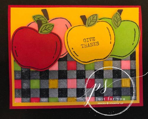 Apples card