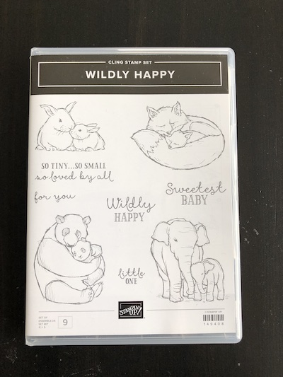 Wildly Happy stamp set