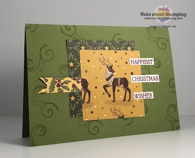 Night Before Christmas card map