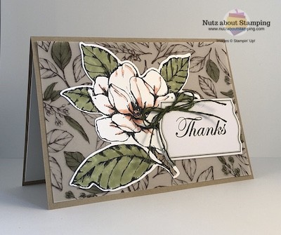 Magnolia Lane thank you card