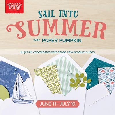 Sail into Summer paper pumkin