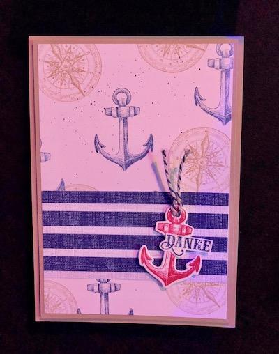 Come Sail Away card 2