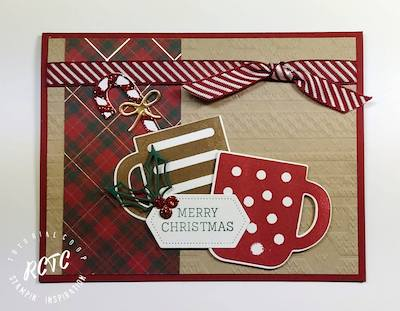 Merry Christmas Mugs card